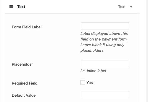 Custom Form Fields - WP Simple Pay Documentation