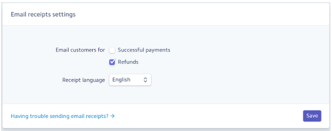 Configuring Email Receipts in Stripe - WP Simple Pay Documentation
